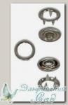 Кнопки рубашечные металлические (под никель) 11 мм 10 комплектов