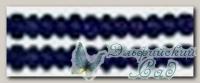 Бисер Златка (Zlatka) круглый, прозрачный с цветным отверстием - 0020A-1